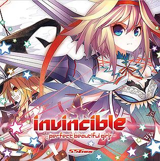 invincible -perfect beautiful girls-/©556ミリメートル